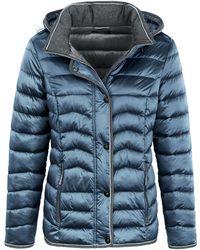 Peter Hahn La veste matelassée taille 46 - Bleu