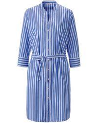 Eterna Blusen-kleid - Blau