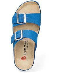 Berkemann Original Pantolette verica - Blau