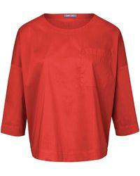 DAY.LIKE Blusen-shirt 3/4-arm - Orange