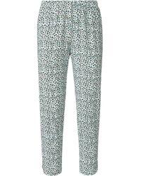 Green Cotton Le pantalon 7/8 100% coton taille 42 - Multicolore
