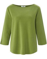 Peter Hahn Sweatshirt u-boot-ausschnitt - Grün
