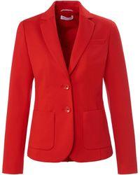 St. Emile Jersey-blazer - Rot