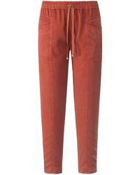Peter Hahn Jogg-pants modell cornelia - Orange
