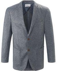Carl Gross La veste jersey à poche poitrine taille 27 - Gris