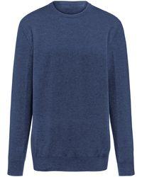 Peter Hahn Cashmere Pullover aus 100% Premium-Kaschmir Modell Ralph - Blau