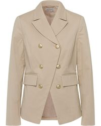 Uta Raasch La veste col tailleur large taille 44 - Neutre