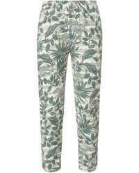 Green Cotton Le pantalon 7/8 100% coton taille 44 - Vert