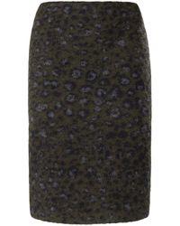 Peter Hahn - La jupe à ceinture élastiquée taille 20 - Lyst