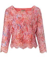 Uta Raasch Bluse 3/4-arm - Pink