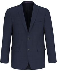 Carl Gross La veste 100% laine vierge taille 28 - Bleu