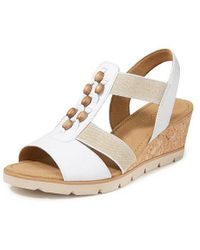 Gabor - Keil-sandale - Lyst