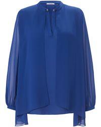 Elena Miro La tunique manches longues taille 46 - Bleu