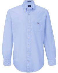 GANT La chemise col button down taille 39/40 - Bleu