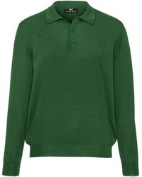 Peter Hahn - Le polo 100% laine vierge taille 46 - Lyst