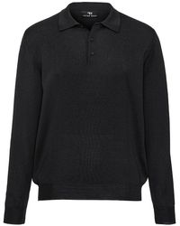Peter Hahn - Polo-pullover achim aus 100% schurwolle-merino - Lyst