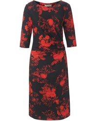 Uta Raasch La robe jersey manches 3/4 taille 48 - Rouge
