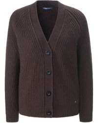 DAY.LIKE Le gilet manches longues taille 48 - Marron