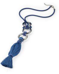 Emilia Lay Le collier - Bleu