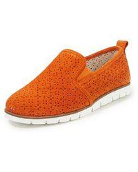 Peter Hahn Slipper - Orange