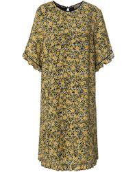 Uta Raasch La robe manches courtes taille 38 - Multicolore