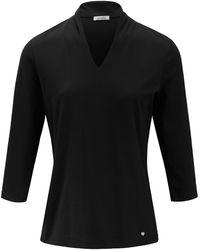 efixelle Le t-shirt manches 3/4 100% coton taille 38 - Noir