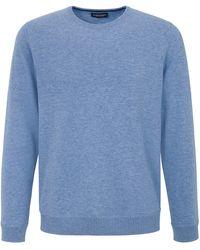 Louis Sayn Rundhals-pullover größe - Blau