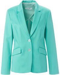 Gerry Weber Le blazer jersey avec long col tailleur taille 38 - Vert