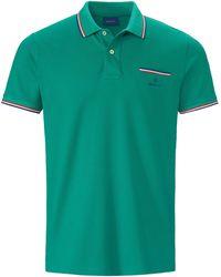 GANT Polo-shirt 1/2-arm - Grün