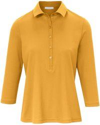 efixelle Polo-shirt 3/4-arm - Gelb