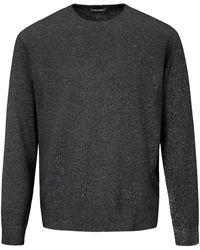 Louis Sayn Rundhals-Pullover grau