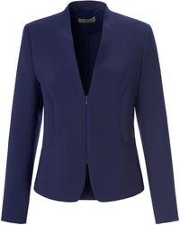 Uta Raasch Le blazer décolleté v taille 38 - Bleu