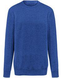 Peter Hahn Pullover aus 100% premium-kaschmir modell ralph - Blau