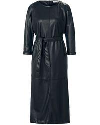 Louis and Mia La robe similicuir taille 40 - Noir