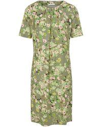 mayfair by Peter Hahn Jersey-Kleid 1/2-Arm mehrfarbig - Grün