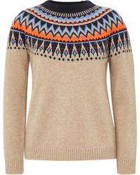 include - Rundhals-pullover aus 100% premium-kaschmir - Lyst