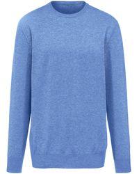 Peter Hahn Cashmere Pullover aus 100% premium-kaschmir modell ralph größe - Blau