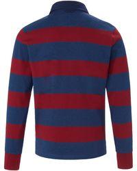 GANT Rugby-shirt 1/1-arm - Blau