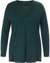 Emilia Lay V-pullover - Grün