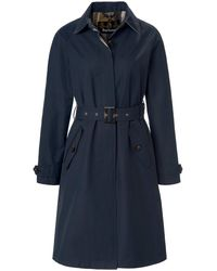Barbour Le trench-coat micro-coton taille 46 - Bleu