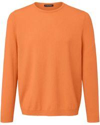Louis Sayn Rundhals-pullover - Orange