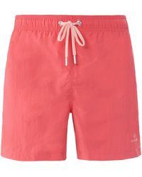 GANT Le short bain avec poches taille 48 - Rose