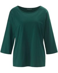 Green Cotton Shirt - Grün