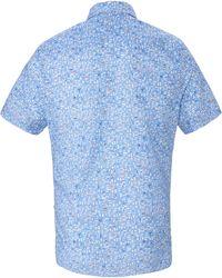 Pure La chemise 100% coton taille 39/40 - Bleu