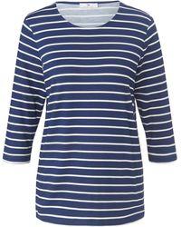 Peter Hahn Le t-shirt manches 3/4 taille 38 - Bleu