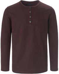Louis Sayn Henley-shirt - Rot