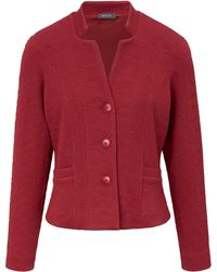 Basler Jersey-blazer größe - Rot