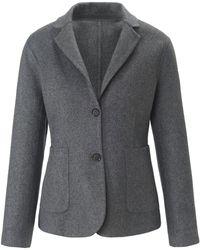 Uta Raasch Le blazer modèle intemporel taille 44 - Gris