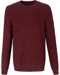 Louis Sayn Rundhals-Pullover braun