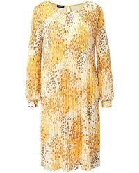 Basler Plissee-kleid - Mehrfarbig